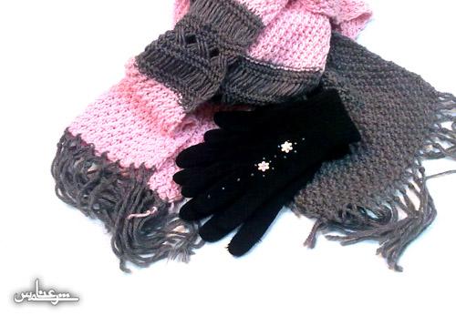 عکس: دستکش ـ شالگردن ـ Scarf ـ Gloves